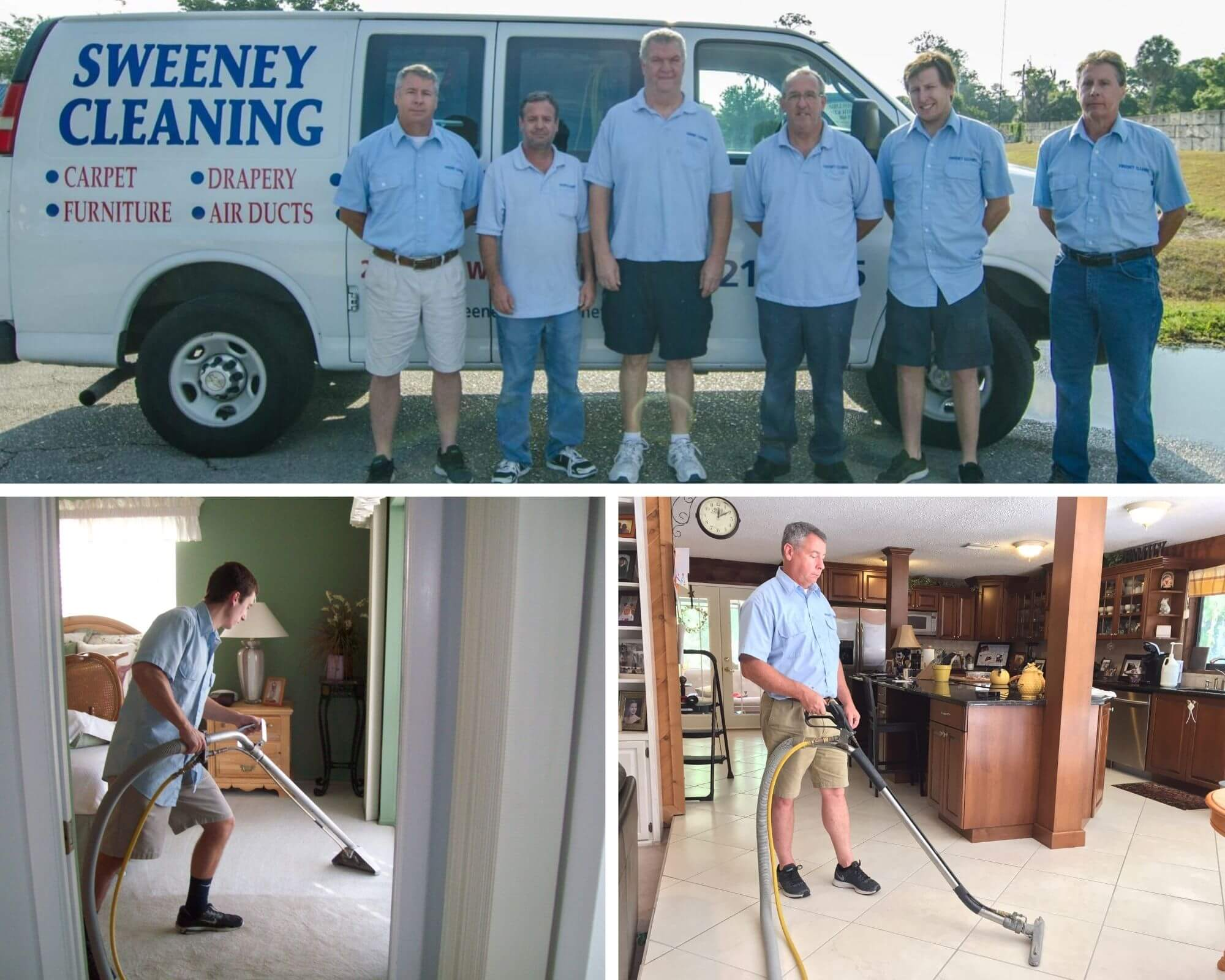 Sweeney Cleaning - Photo Collage 1