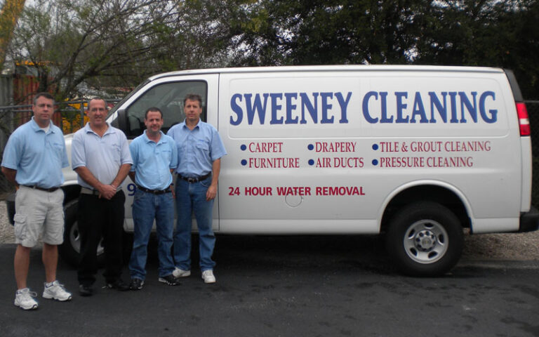 Contact Sweeney Cleaning Today